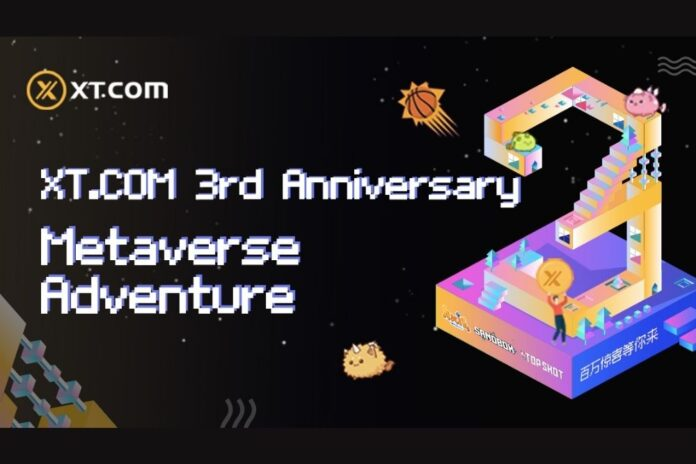 Grand Opening of XT.COM's 3rd Anniversary Celebration – Metaverse Adventure